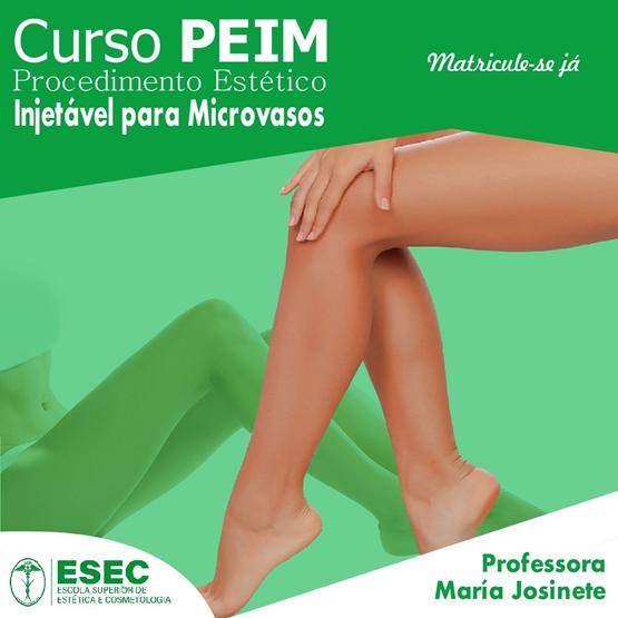 Curso de procedimento estético injetável para microvasos (PEIM)